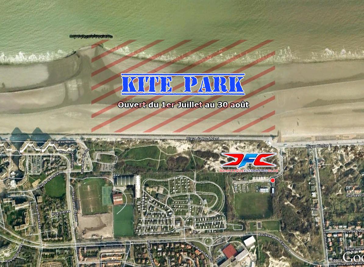 Ouverture du Kite Park 2012
