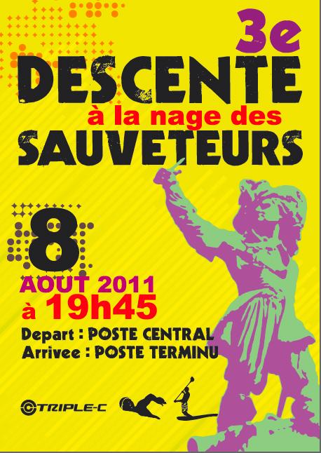 Descente des sauveteurs de Dunkerque