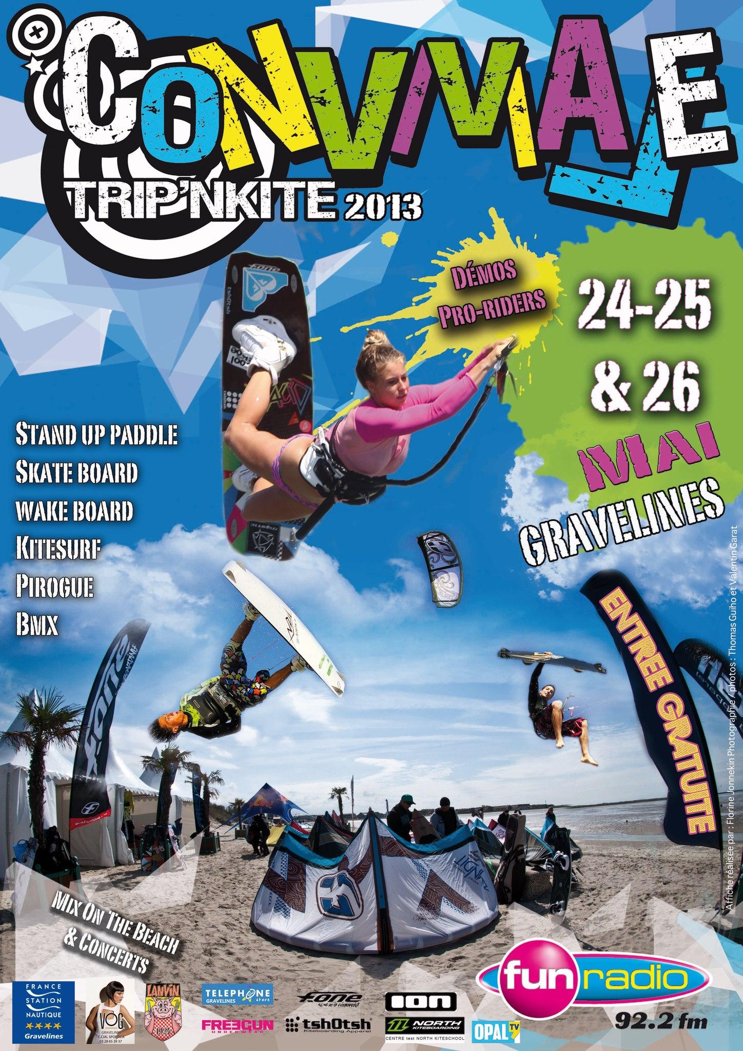 Conviviale Trip'N Kite 2013