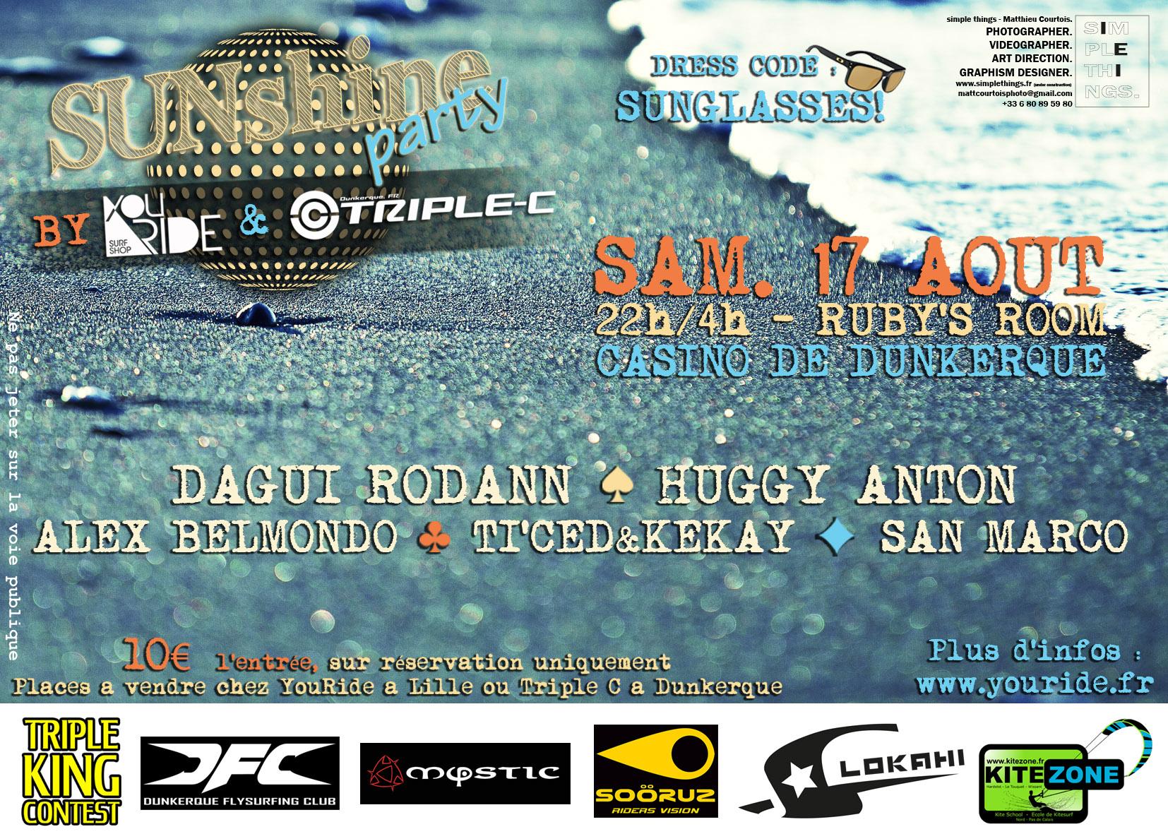 SUNshine Party : Soirée Officielle du TKC 2013