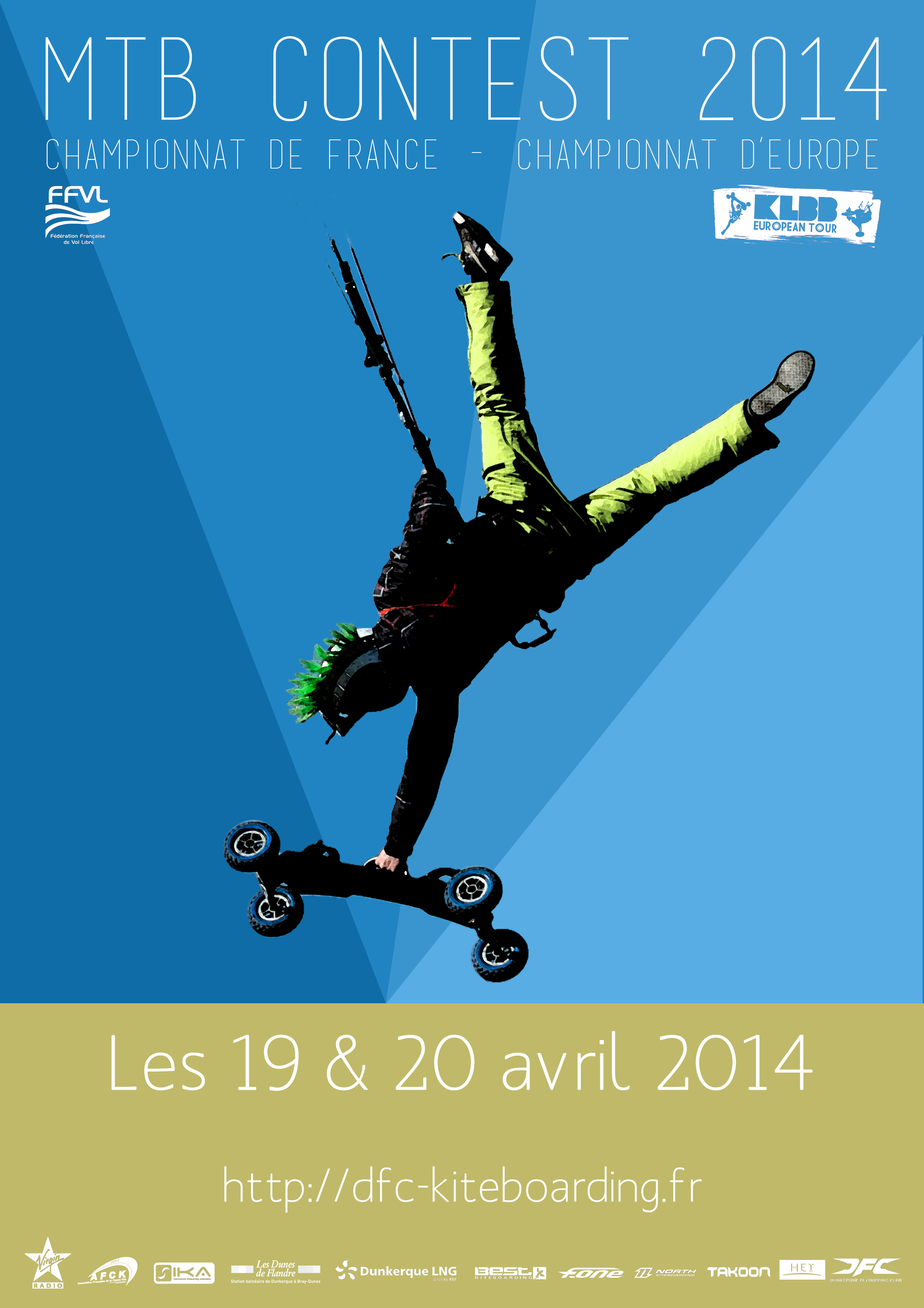 Championnats de france et d'Europe de mountainboard