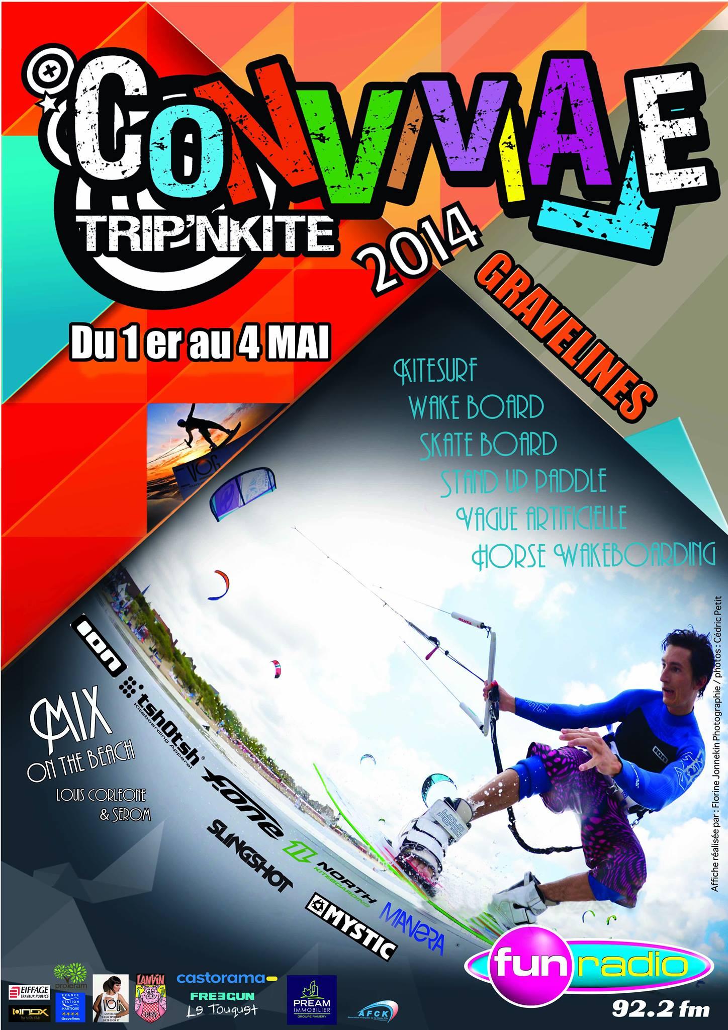 Conviviale Trip'N Kite 2014