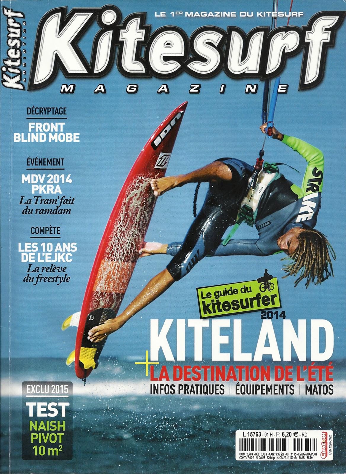 Kitesurf Magazine fait l'article sur le MTB Contest 2014