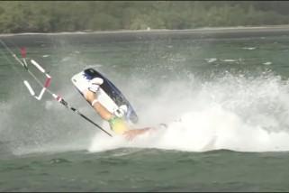 Kitesurf crashes