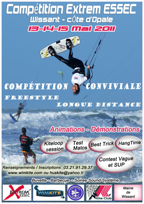 Compétition EXTREM ESSEC Kitesurf Invitational