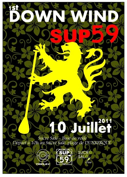 SUP59 DOWN WIND à Dunkerque le 10 juillet