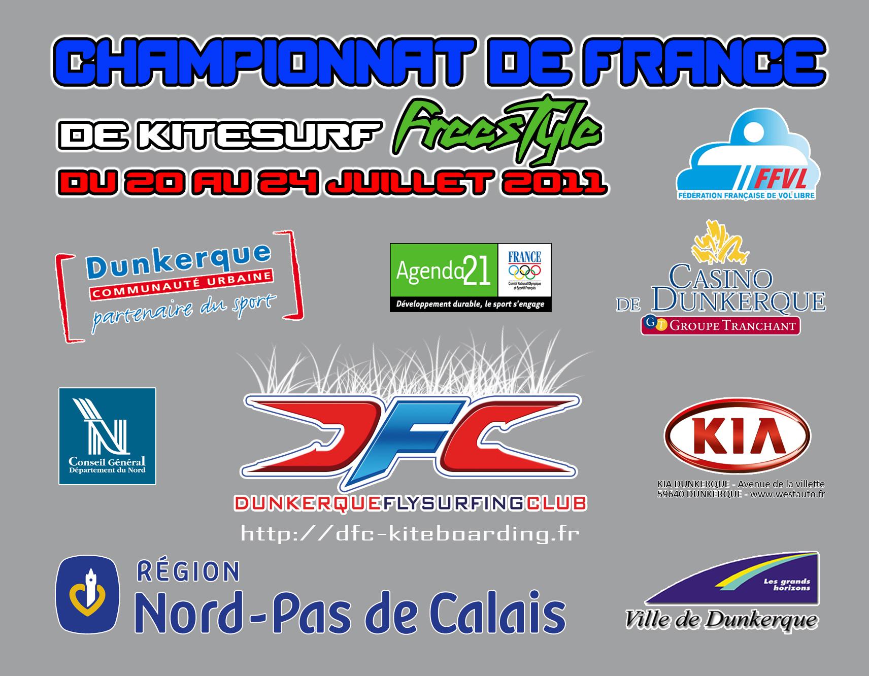 Les partenaires du Championnat de France