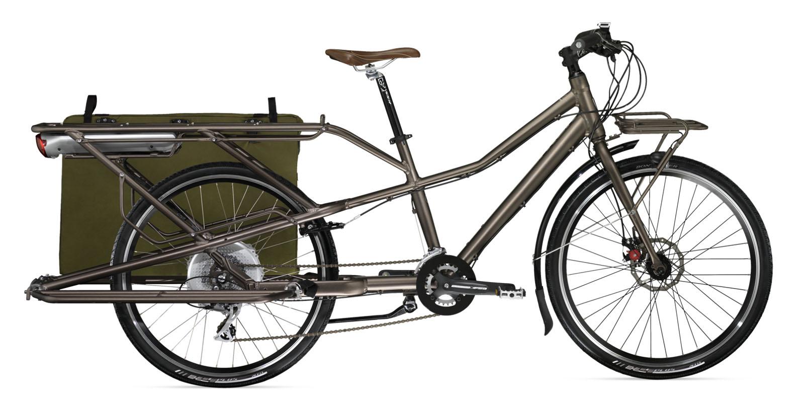 Transporter le matos à vélo