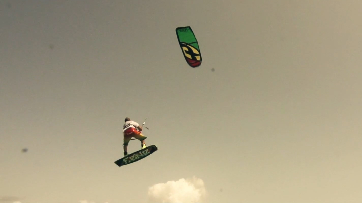 F-ONE Freestyle team in Mauritius