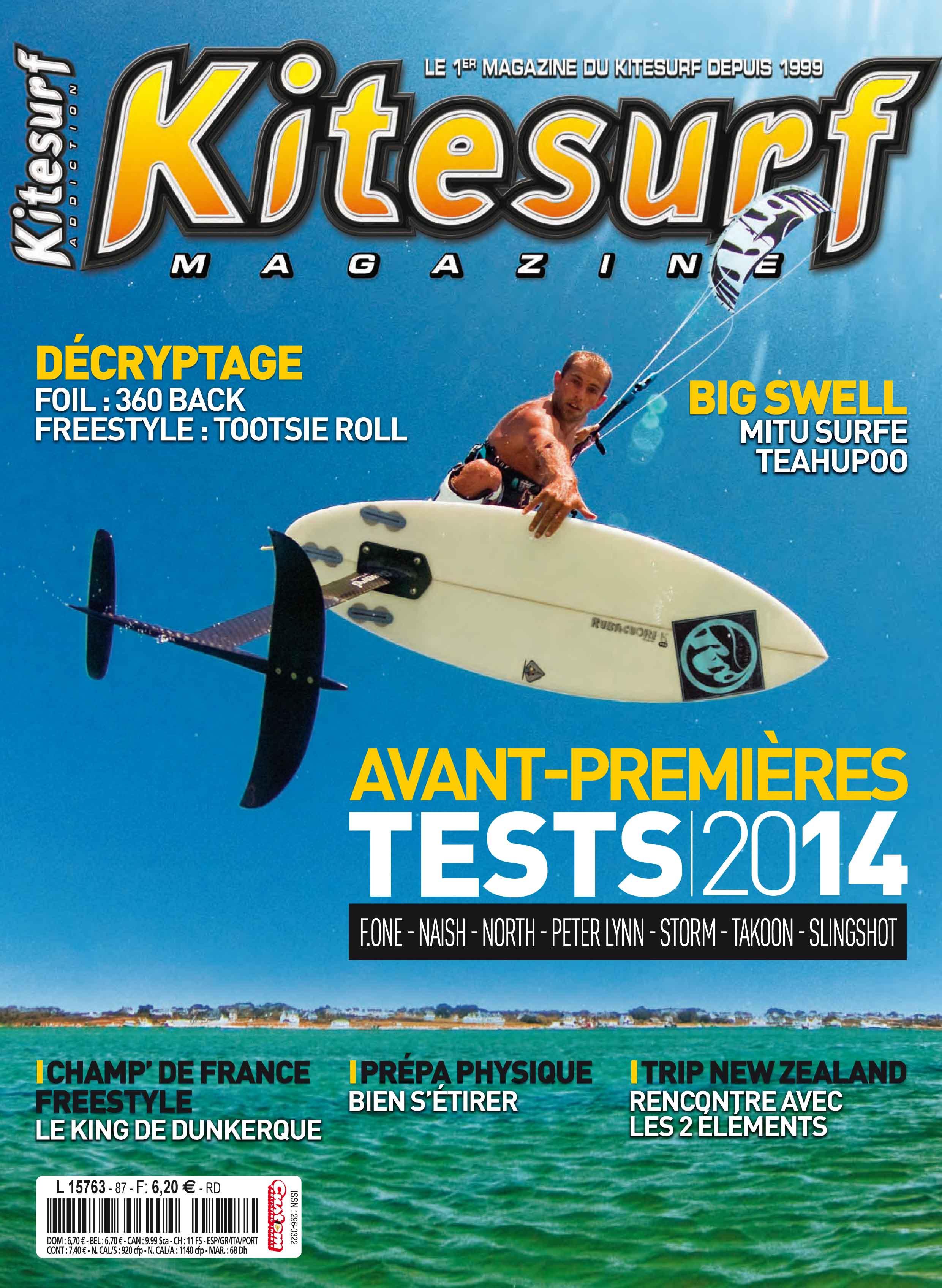 Kitesurf Magazine fait l'article sur le TKC 2013